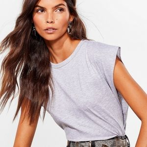 Nasty Gal Crew Can Play That Game Cropped Tank Top